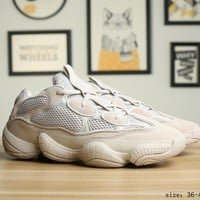 Adidas  Yeezy Boost 500  Beige Casual Running Shoes