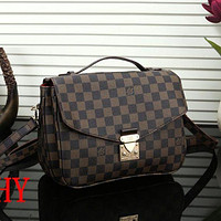 Louis Vuitton LV Stylish Women Shopping Bag Leather Handbag Tote Shoulder Bag Crossbody Satchel I/A