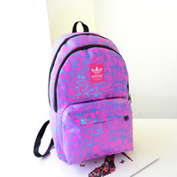 """""""Adidas"""" Crisscross Casual Bag College Laptop Travel Cycling Backpack"""