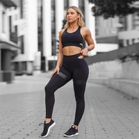 Women's Fashion Summer Hot Sale Yoga Gym Pants Set [1331230507124]