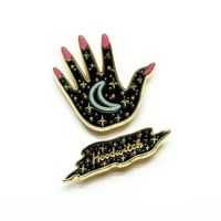 Cosmic Witch Pin Set