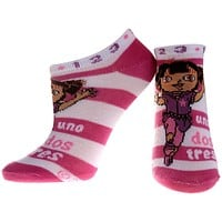 Dora The Explorer - Uno Dos Pink Socks