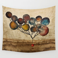 A Cosmic Incident Wall Tapestry by Efi Tolia