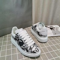 Alexander Mcqueen Graffiti Oversized Sneakers Reference #8