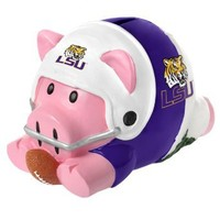 NCAA LSU Action Piggy Bank