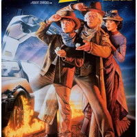 Back to the Future III Movie Poster 11x17