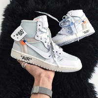 NIKE OFF-WHITE x Air Jordan 1