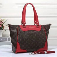 One-nice™ LV Women Shopping Bag Leather Tote Handbag Shoulder Bag