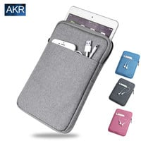 Shockproof Tablet Sleeve pouch Case for ipad mini 2 3 4 ipad Air 2  Pro Cover thick + Screen Film AKR 2016
