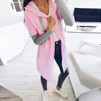Long Cardigan Sweaters for Women with Open Front