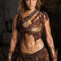 SPARTACUS Saxa cosplay costume blood and sand / war of the damned / Ellen Hollman