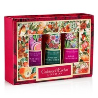 Crabtree & Evelyn Holiday Hand Therapy Sampler Set (Limited Edition)   Nordstrom