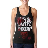 Walking Dead Shirts - Walking Dead Mrs Daryl Dixon Junior Ladies Tank Top
