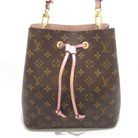Auth LOUIS VUITTON Monogram Neo Noe M44022 Shoulder Bag MI2107