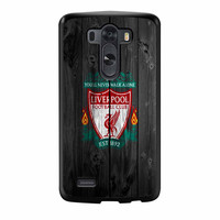 Liverpool FC Wood Style LG G3 Case