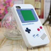 VOONGSON Hot Sale Gameboy Phone TPU Case For iPhone 5 5s SE 7 7 Plus 6 6s Classic Retro Soft Silicone Back Cover iphon 5s Cases