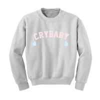 CRYBABY Sweathshirt - Tumblr - Ariana Grande - Aesthetics - the 1975 - Best Friends Shirt - Melanie Martinez -Grunge-Vaporwave-90s- Babygirl