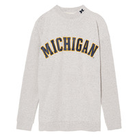 University Of Michigan Stadium Mock Neck - PINK - Victoria's Secret