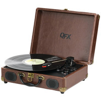 QFX TURN-101 Portable Suitcase Record Player