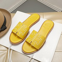 shosouvenir  TORY BURCH Logo sandals
