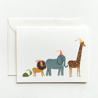 Rifle Paper Co. - Animal Parade Card