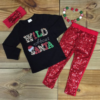Wild About Santa Christmas Outfit