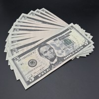 30x $5 Bills - $150 - New Style Prop Money