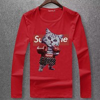Boys & Men Supreme Fashion Casual Top Sweater Pullover