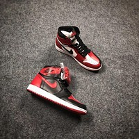 Air Jordan 1 Retro High OG Homage To Home AJ1 Sneakers