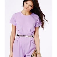 Missguided - Pierra Belted Playsuit