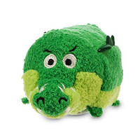 Disney Tick Tock the Crocodile ''Tsum Tsum'' Plush - Peter Pan - Mini - 3 1/2''