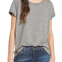 Current/Elliott The Crewneck Star Print Tee | Nordstrom