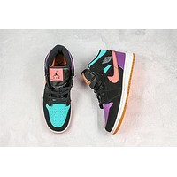 Air Jordan 1 Mid GS 'Candy' Basketball Shoes