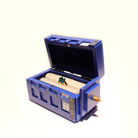Miniature Dr. Who Tardis Engagement Ring Inspired Box
