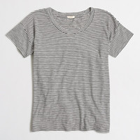 Factory striped drop-shoulder tee