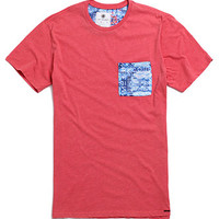 On The Byas Ace Washed Pocket Print Crew T-Shirt at PacSun.com