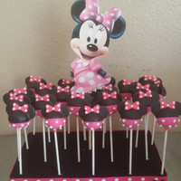 Minnie mouse cake pop stand /cookie stand /sucker stand