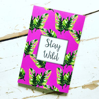 2016/2017 Weekly Planner- Stay Wild