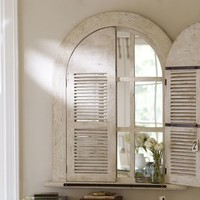 ARCHED DOOR MIRROR