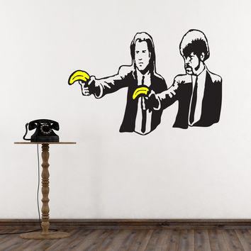 Banana Pulp Gangstas - Banksy Wall Decals