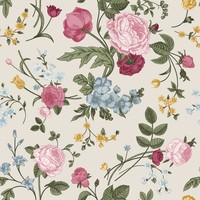 Removable Wallpaper - Spring Bouquet