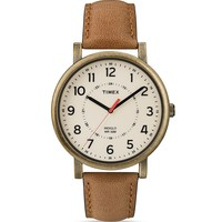 Timex Antique Gold-Tone Watch, 42mm | Bloomingdale's