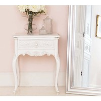 Provencal Charm Shabby Chic Bedside Table