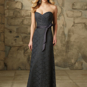 Sophisticated and Romantic Lace Bridesmaid Dress   Style 103   Morilee