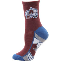 Colorado Avalanche Women's Zoom Quarter-Length Socks