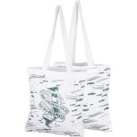 There's A Million Fish In The Sea, But I'm A Mermaid Sentiment With Mermaid Design Tote Bag