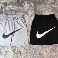 NIKE print new shorts sports pants G-YF-MLBKS