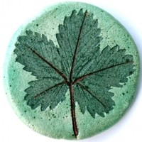 Handcrafted Jewelry - Herbal Cinquefoil Pin | walkinthewoodsllc - Jewelry on ArtFire