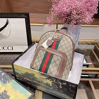 GUCCI GG Ophidia GG small backpack