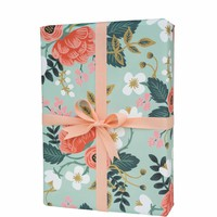 RIFLE PAPER CO. ROLL OF 3 BIRCH WRAPPING SHEETS